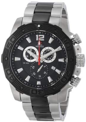 Swiss Precimax Men's SP13270 Legion Pro Black Dial with Two-Tone Stainless Steel Band Watch