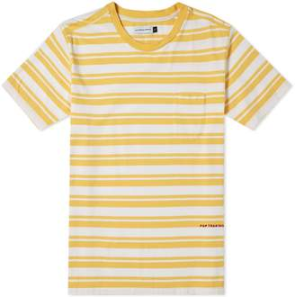 Pop Trading Company Stripe Pocket Tee