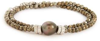 Armenta Old World Semiprecious Stone & Diamond Beaded Bracelet