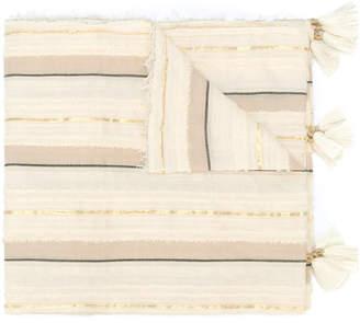 Twin-Set striped scarf