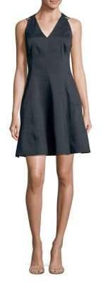 Elie Tahari Selene Fit-and-Flare Dress