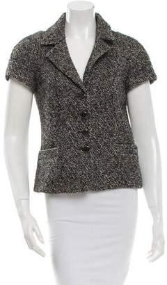 Celine Printed Wool Blazer