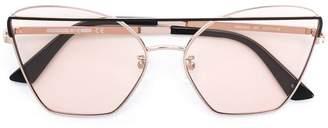 McQ Eyewear cat eye aviators