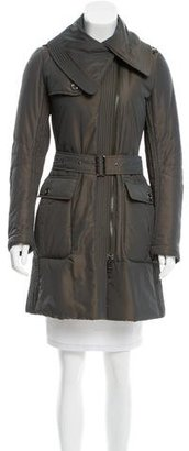 Burberry London Knee-Length Puffer Coat $425 thestylecure.com