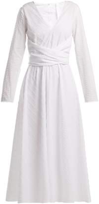 MERLETTE Lanai cotton wrap dress