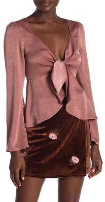 Honeybelle Honey Belle Long Sleeve Top With Ruffled Detail
