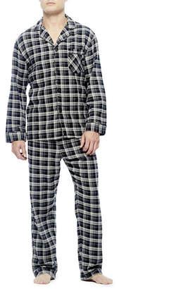 Hanes Flannel Pajama Set