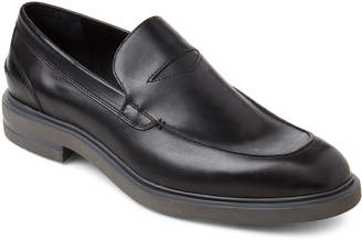 Donald J Pliner Black Edwyn Leather Loafers