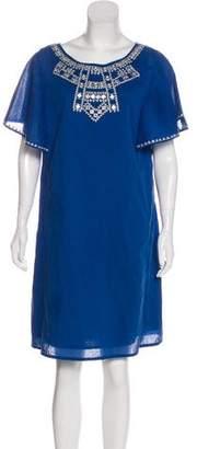Roberta Roller Rabbit Embroidered Mini Dress