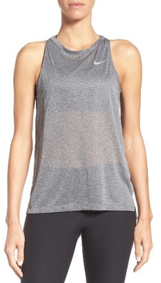 Women's Nike Breathe Running Tank $55 thestylecure.com