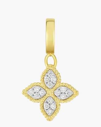 Roberto Coin Diamond Pave Flower Pendant