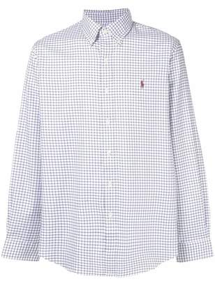 Polo Ralph Lauren button-down checked shirt