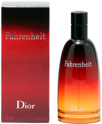 Christian Dior Men's Fahrenheit 3.4Oz Eau De Toilette Spray