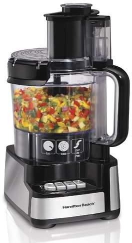 Hamilton Beach Stack & Snap 12-Cup Food Processor
