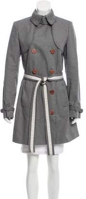 Stella McCartney Double-Breasted Short Coat