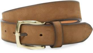 Berge Men's Suede Belt with Darker Edges