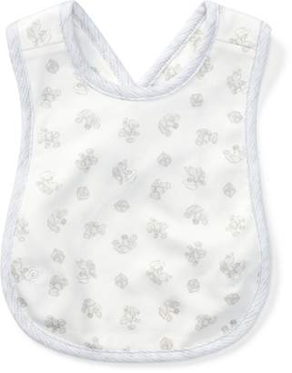 Ralph Lauren Toy-Print Cross-Back Bib