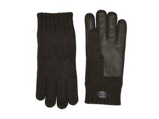UGG Knit Conductive Leather Gloves