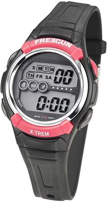 Freegun Boys Digital Quartz Watch with Plastic Strap EE5166