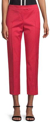 Akris Punto Cropped Polka-Dot Trouser