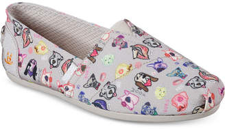 Skechers Women's Bobs Plush - Posh Pup Smarts Bobs for Dogs Casual Slip-On Flats from Finish Line