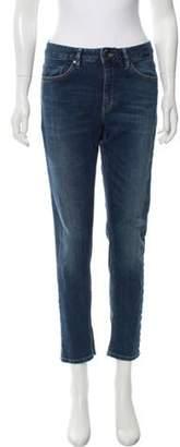 Hope Mid-Rise Straight-Leg Jeans blue Mid-Rise Straight-Leg Jeans