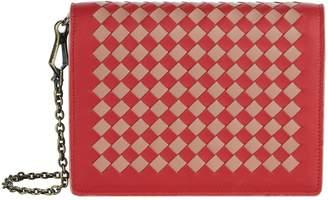 Bottega Veneta Tonal Leather Intrecciato Wallet Bag