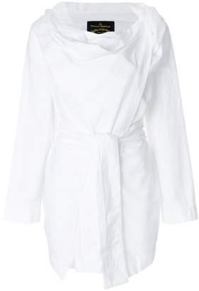 Vivienne Westwood cowl neck wrap top
