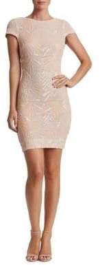 Dress the Population Tabitha Geometric Sequined Bodycon Dress