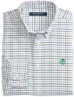 Brooks Brothers Boys' Non-Iron Oxford Check Shirt