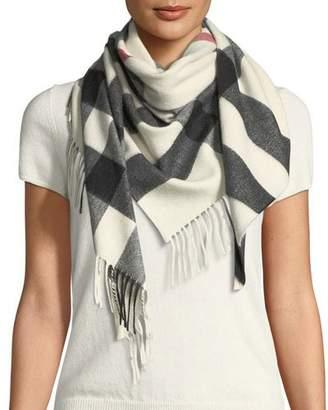faded bandana scarf - Blue Burberry n3kqBOm