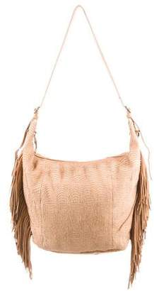 Ash Textured Leather Hobo