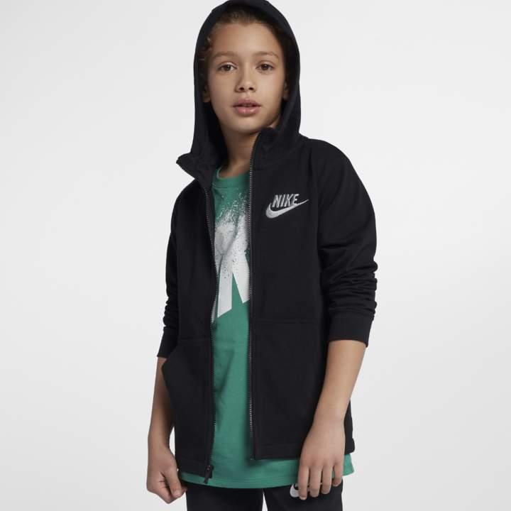 Sportswear Big Kids' (Boys') Hoodie Size XS (Black)