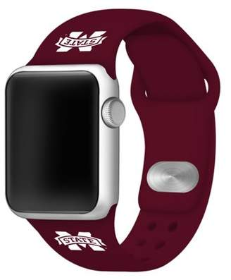 Affinity Bands Mississippi State University Silicone Sport Band for Apple Watch - BAND ONLY