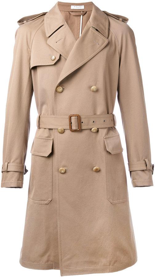BoglioliBoglioli double breasted trench coat
