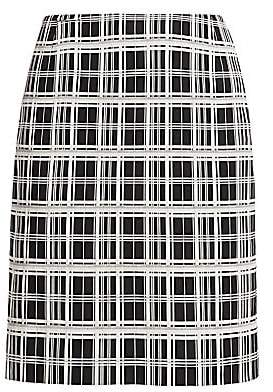 Akris Punto Women's Check Jacquard Pencil Skirt