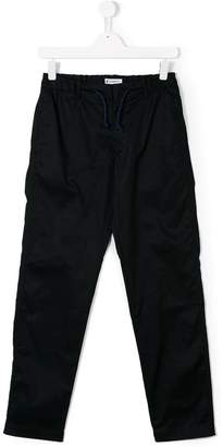 Dondup Kids TEEN drawstring-waist trousers