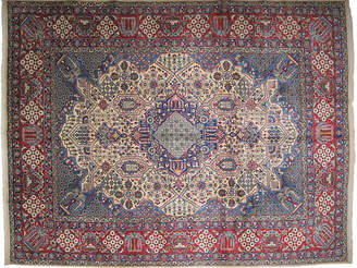 One Kings Lane Vintage Persian Yazd Carpet - 10' x 13' - R. Banilivi and Son