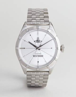 Vivienne Westwood VV192SLSL Conduit Bracelet Watch In Silver