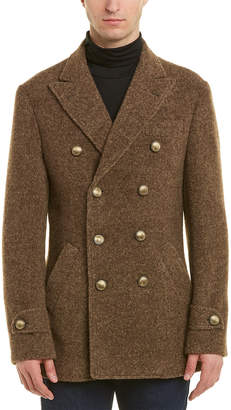 Brunello Cucinelli Alpaca-Blend Coat