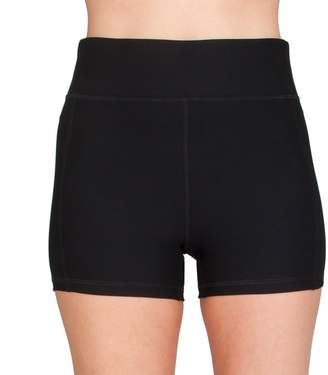 Spalding Women's High-Waisted Volleyball Shorts