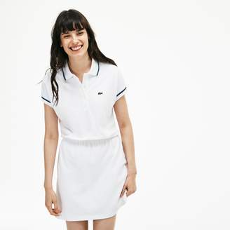 Lacoste Women's 85th Anniversary Limited Edition Pique Polo Dress