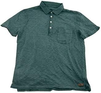 7 For All Mankind Men's Lightweight Slub Polo Shirt