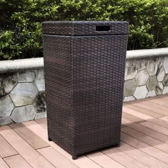 Kohl's Palm Harbor Outdoor Wicker Trash Bin