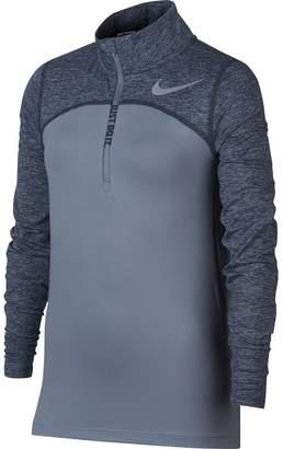 Nike Dry Element 1/2-Zip Running Top - Girls'
