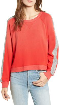 Splendid Varsity Stripe Sweatshirt