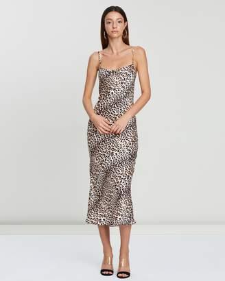 Bec & Bridge Feline Midi Dress