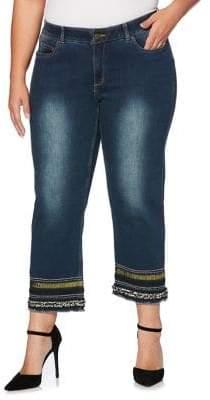 Rafaella Plus Dusk Hem Jeans