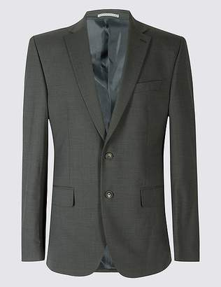 Marks and Spencer Big & Tall Charcoal Regular Fit Jacket