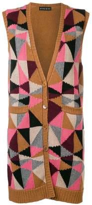 Etro geometric button cardigan